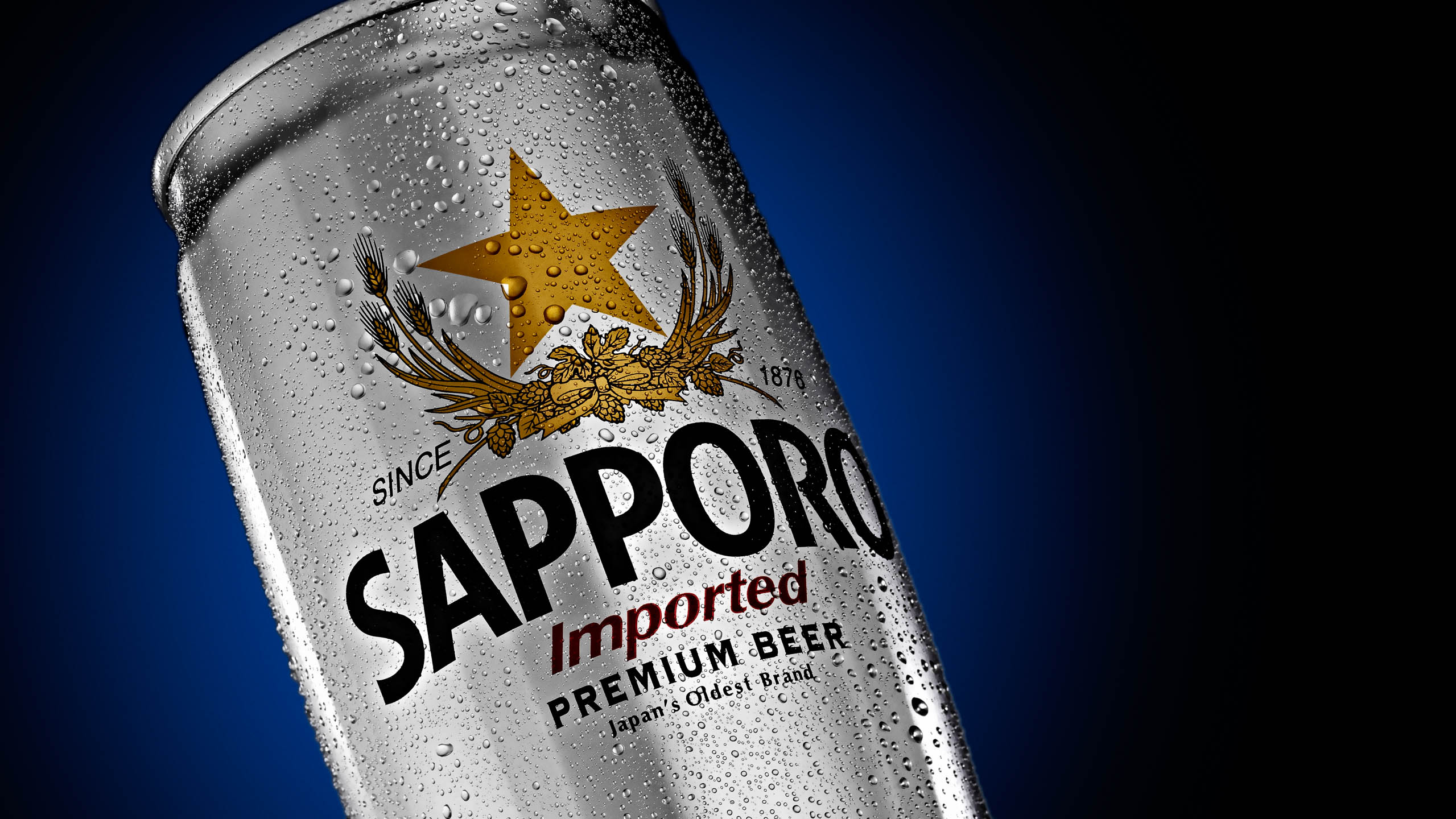 Sapporo imported beer from Japan by Steve Temple Photography