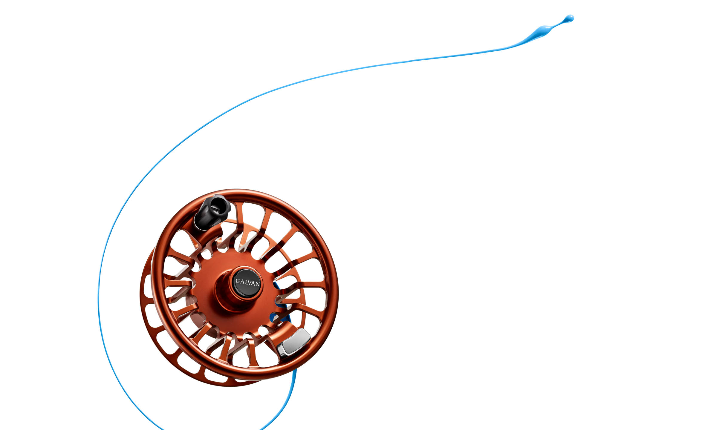 Galvan fly fishing reel