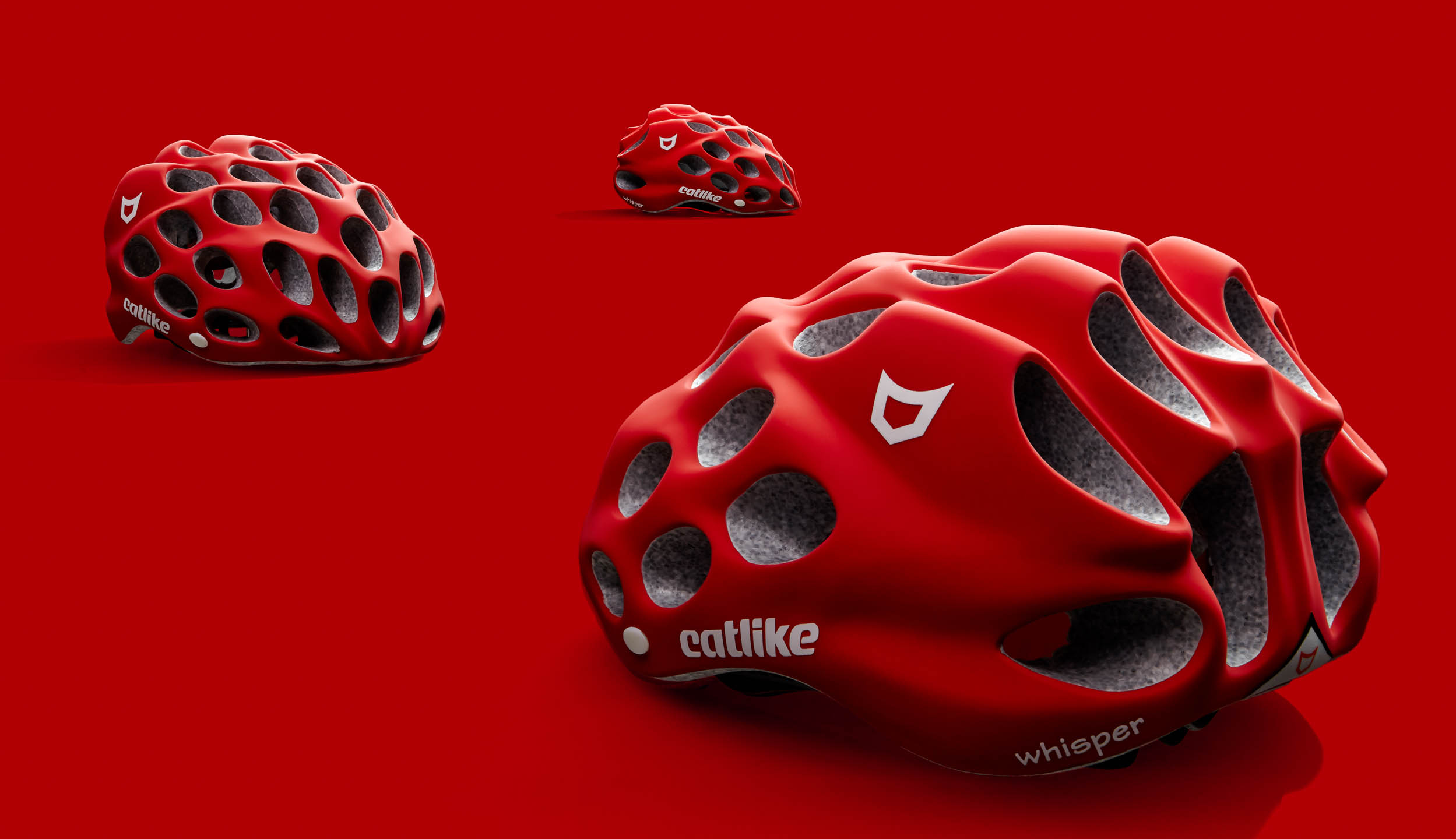 Catlike Whisper bicycling helmet