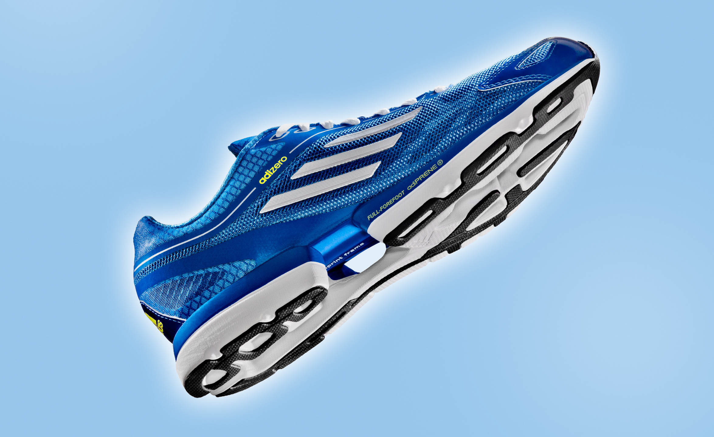Adidas Adizero running footwear by Steve Temple Photography