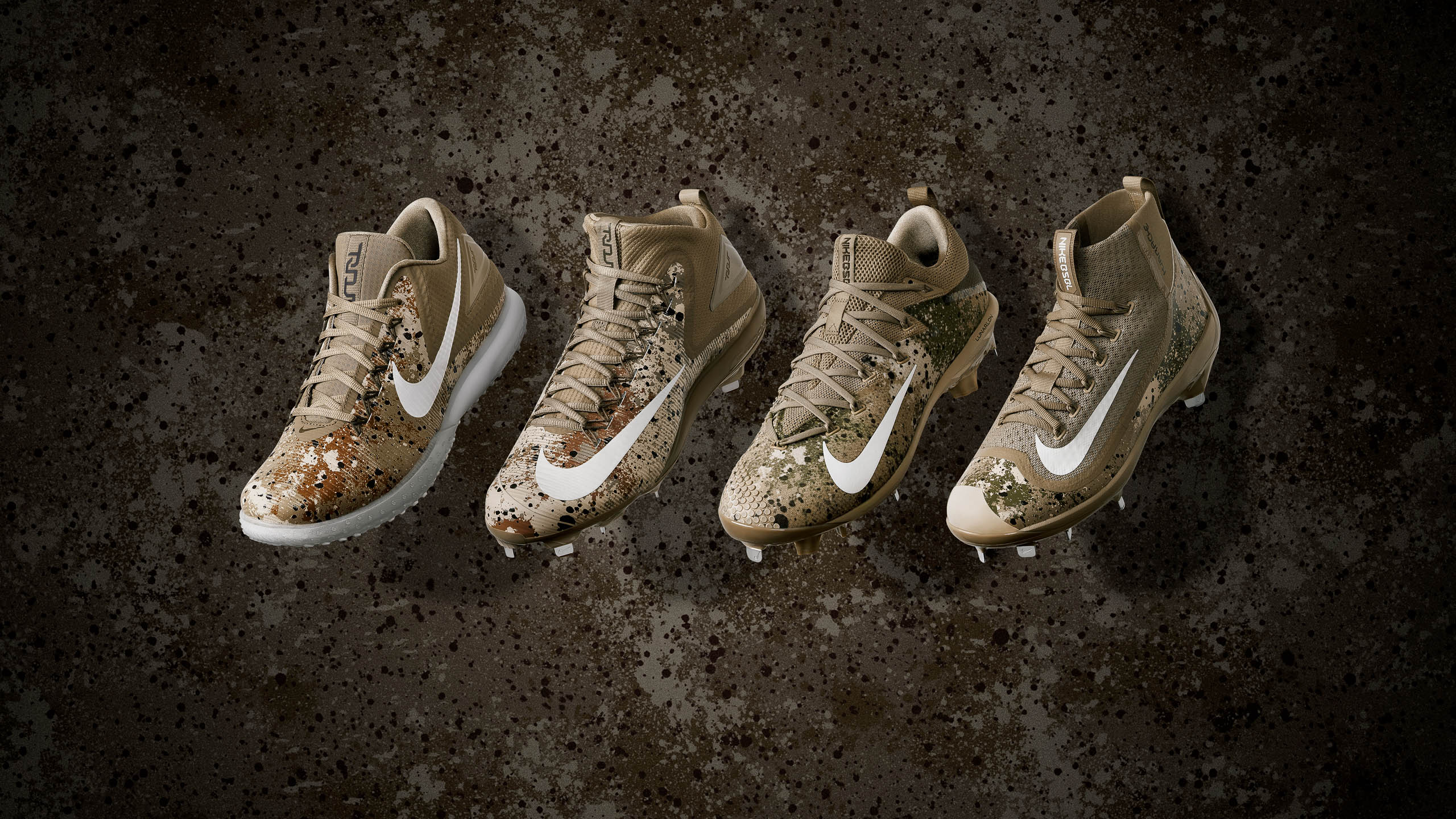 Nike Baseball Mike Trout Memorial cleat and turf footwear