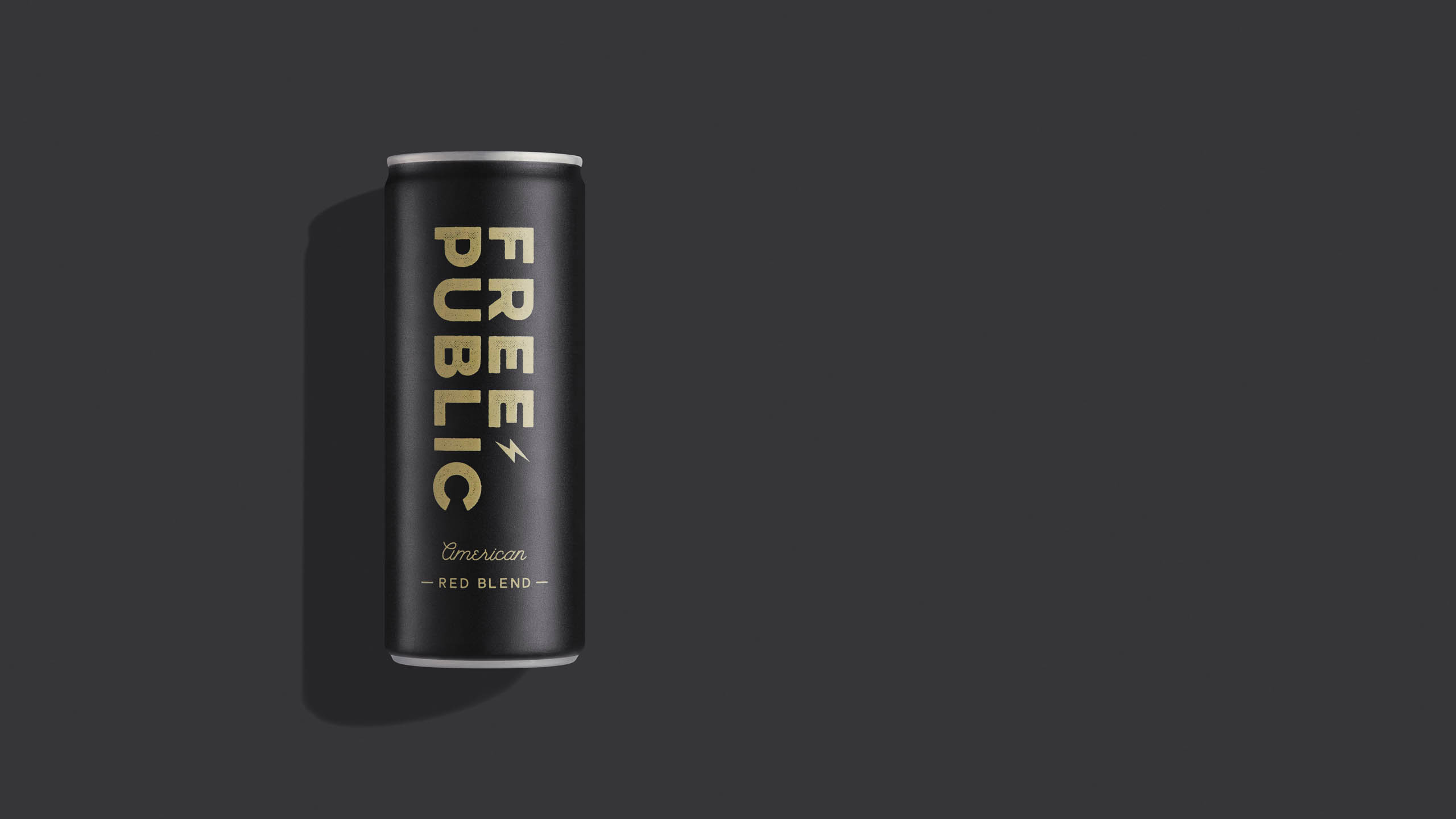 Free Public canned Red Blend Wine by Steve Temple Photography