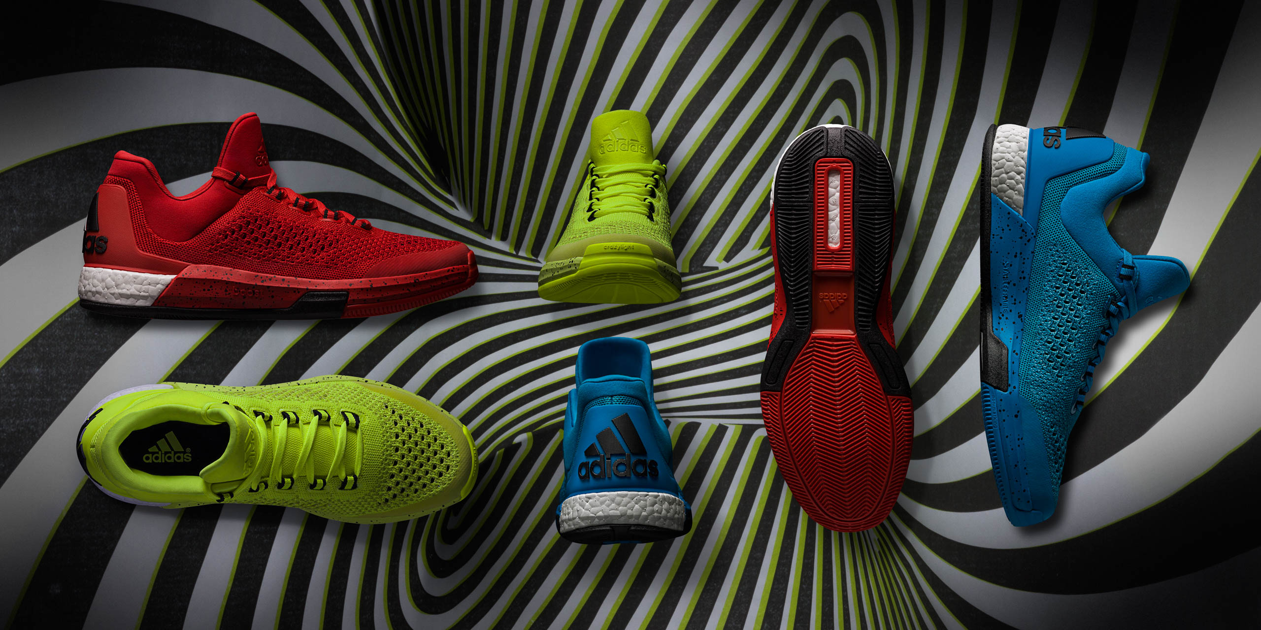 Adidas Crazylight Boost basketball footwear