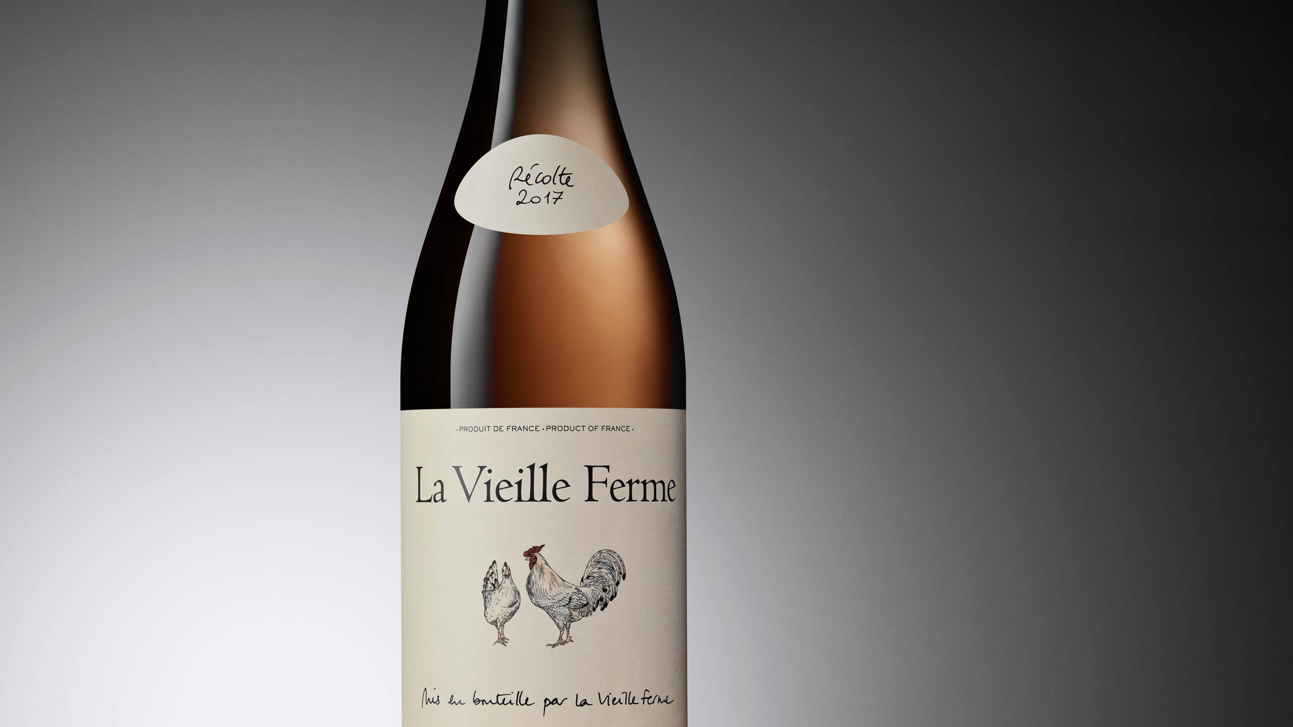 La Vieille Ferme Wine Bottle