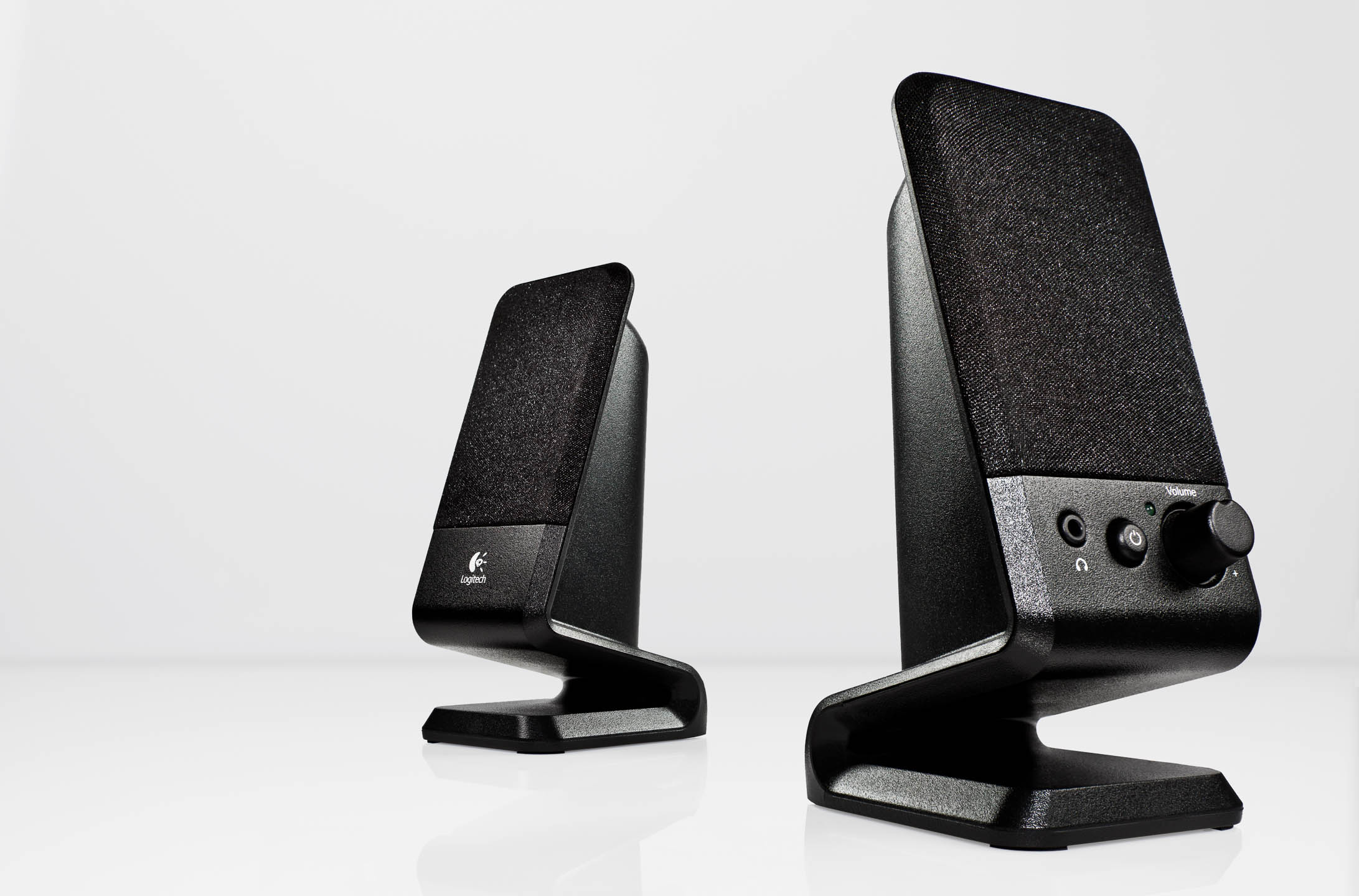 Logitech computer speakers by Steve Temple Photography