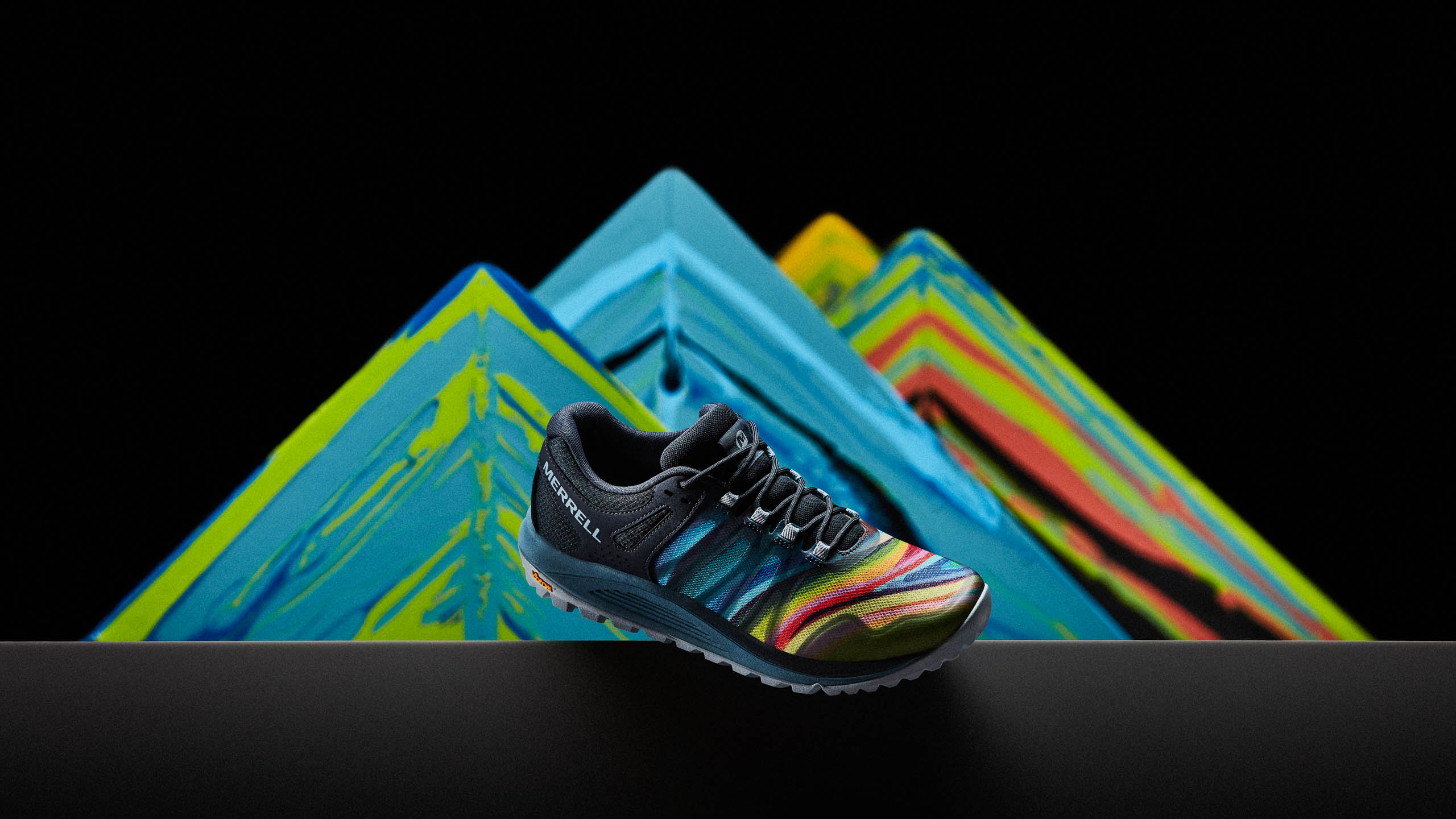 Merrell Nova inspired by the Painted Mountains