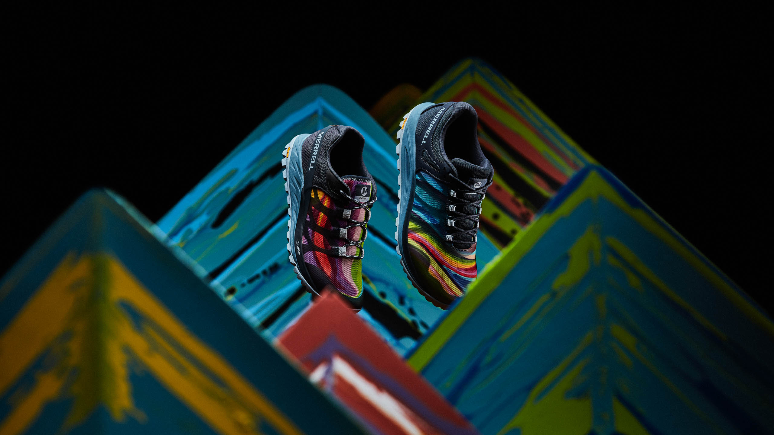 Merrell Nova and Antora inspired by the Painted Mountains