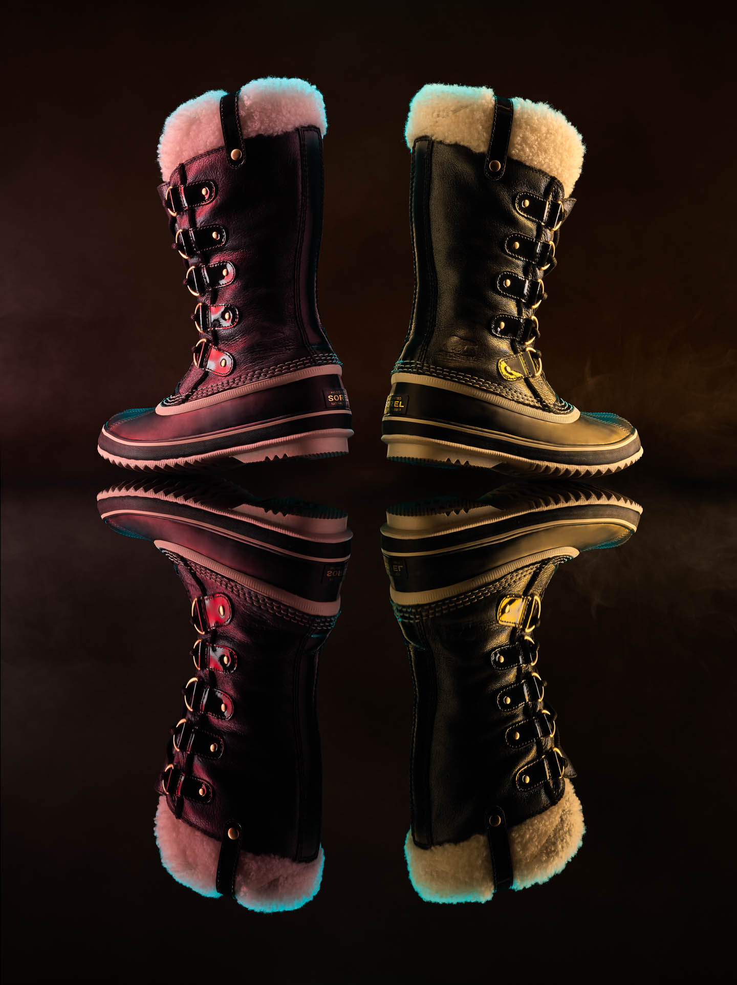 Sorel fashion footwear by Steve Temple Photography