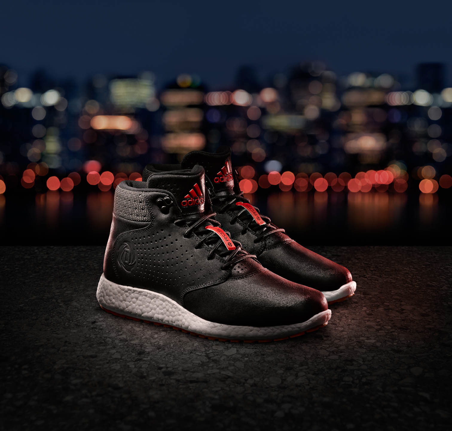 Adidas Lakeshore basketball footwear by Steve Temple Photography
