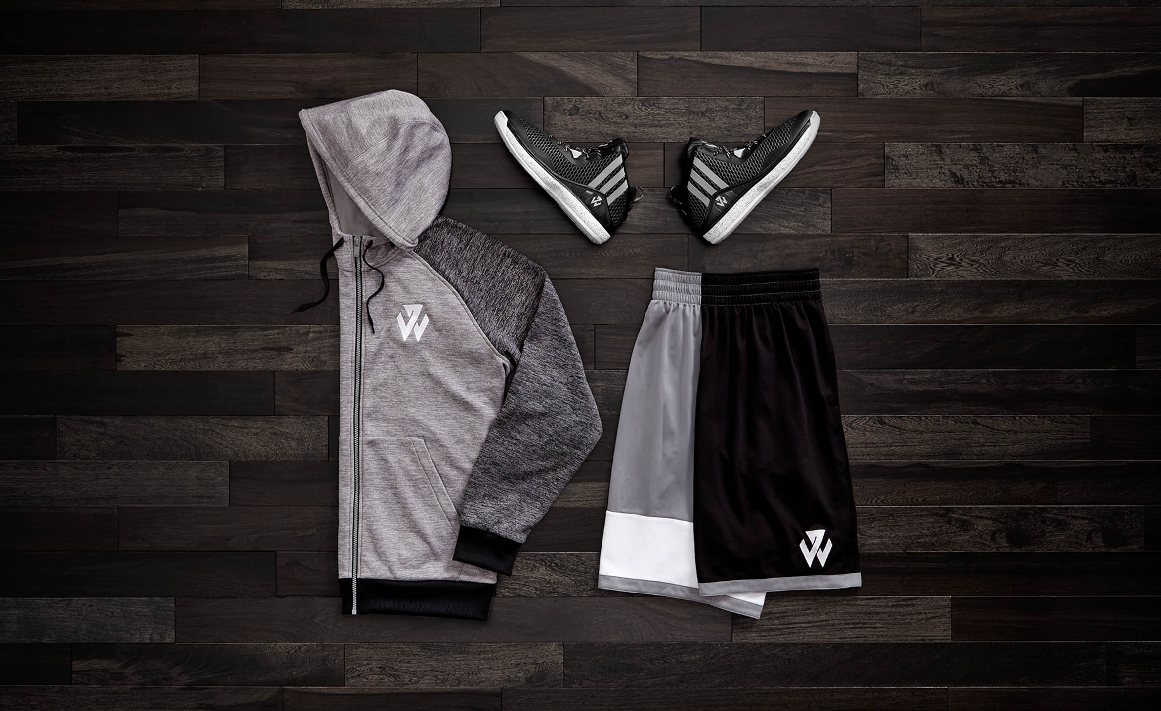 Adidas John Wall basketball footwear and clothing